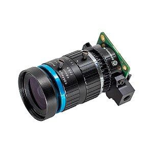 Câmera Raspberry Pi 12.3mp Foco Ajustável + Lente 16mm
