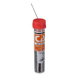 Estanho de Solda 0,5mm 63x37 Tubete 12g Cast