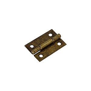 Mini Dobradiça Para Artesanato 25mm (Ouro Velho)