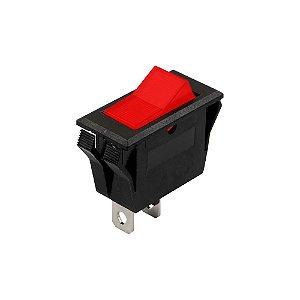 Chave Gangorra KCD6-101 s/ Marcação (Vermelha)