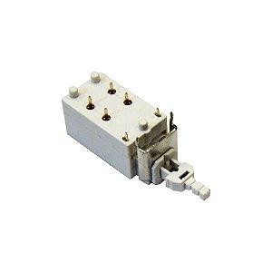 Chave Tecla KDC-A14-4 6P 10A 250V (Branco)