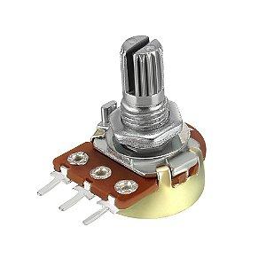 Potenciômetro Rotativo WH148-1 5K L16 3T B Linear