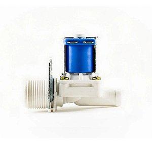 Válvula Solenoide para Água 12V 180° (3/4 x 1/2) VA 01