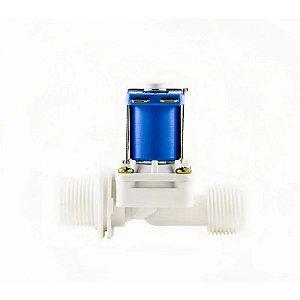 Válvula Solenoide para Água 12VDC 180° (1/2 x 1/2) VA 03