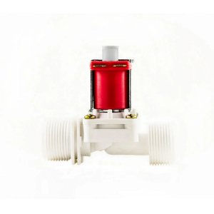Válvula Solenoide Para Água 24VDC 180° (3/4 x 3/4) VA NA 04