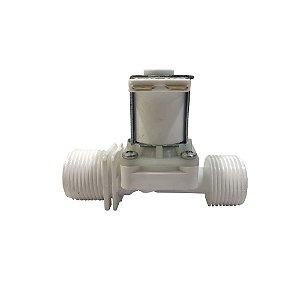 Válvula Solenoide para Água 24VDC 180° (3/4 x 3/4) VA 04