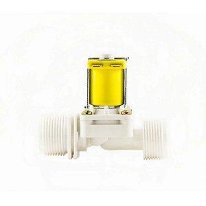 Válvula Solenoide para Água 127V 180° (3/4 x 3/4) VA 04