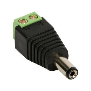 Adaptador P4 Macho 2,1mm para Borne