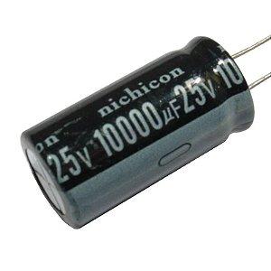 Capacitor Eletrolítico 10000uF / 25V