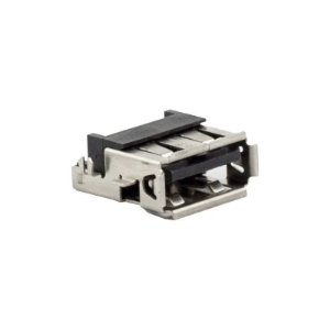 Conector USB Fêmea P/ Circuito Impresso 90º