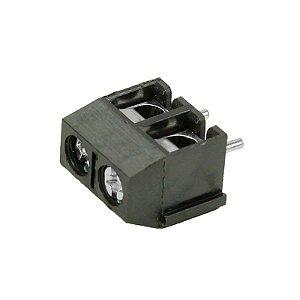 Mini Borne 2 Polos KRE2 KF301 10x10mm Preto