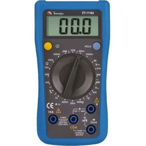 Multímetro Digital ET-1110A - Minipa