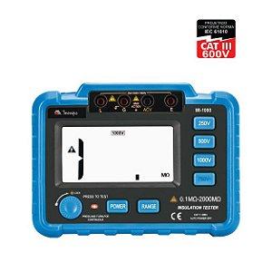 Megômetro Digital MI-1000 - Minipa