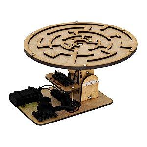 Jogo Labirinto MDF DIY (Estrutura para Montar)