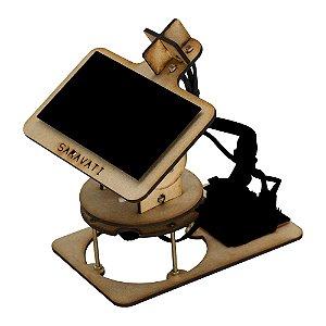 Solar Tracker 2 Eixos MDF DIY (Estrutura para Montar)