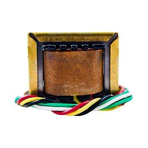 Transformador Trafo 4,5V+4,5V 250mA - 110/220VAC