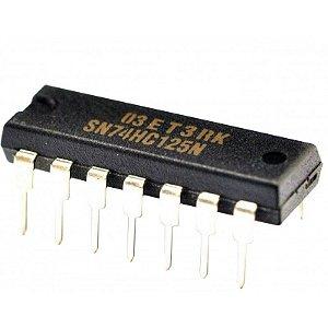 Circuito integrado 74HC125 - Buffer/Line Driver