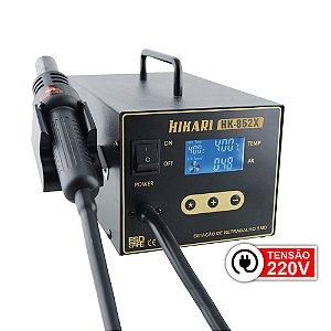 Estação de Retrabalho Digital para SMD HK-852X 220V - Hikari