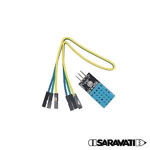 Módulo Sensor de Temperatura e Umidade Digital DHT11