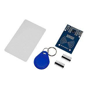 Kit Módulo RFID RC-522 + Cartão + Chaveiro 13,56 MHz
