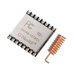 Módulo LoRa 915MHz 100mW - LoRa 1276-C1 V1.0