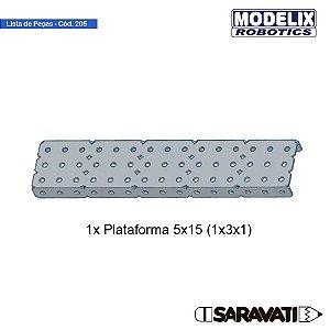 Modelix 205- Plataforma 5x15 (1X3X1)