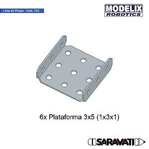 Modelix 203- Plataforma 5x3 (1X3X1)