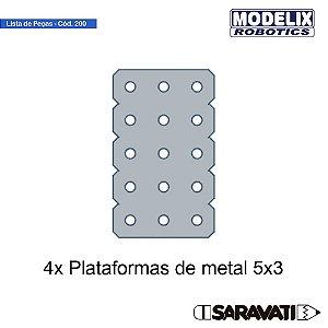 Modelix 200 - Conjunto de Plataformas 5C-X3