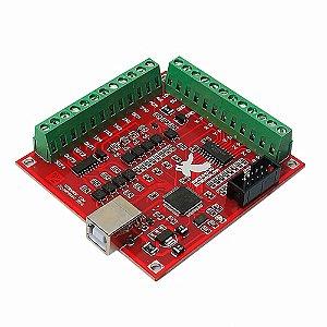 Placa Controladora CNC Interface Mach3 - USB