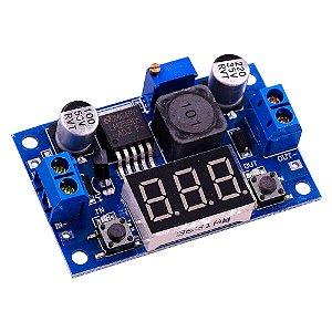Regulador De Tensão Step-down Lm2596 Voltímetro
