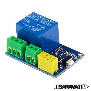 Módulo Relé 1 Canal ESP-01S para ESP8266 Wifi IOT