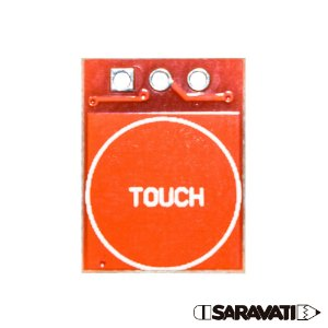 Botão Sensor Touch Toque Capacitivo TTP223 Vermelho