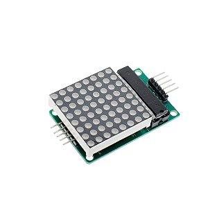 Módulo Matriz de LED 8x8 MAX7219 Vermelho