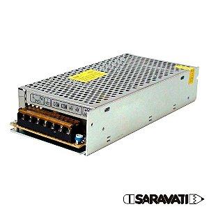 Fonte Chaveada Metal 100-240VAC 150W 5VDC 25A