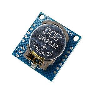 Módulo Real Time Clock DS1307 Tiny RTC Relógio Tempo Real