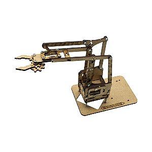 Braço Robótico MDF (Esqueleto + Parafusos para montar)