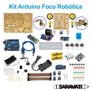 Kit Arduino Foco Robótica