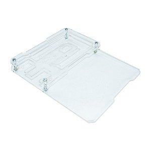 Case Acrílico Transparente MPAC01 Protobase Arduino Mega R3