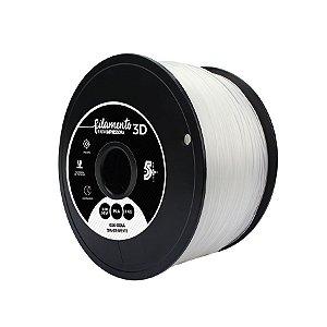 Filamento para Impressoras 3D PLA 1Kg 3mm Transparente