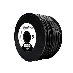 Filamento para Impressoras 3D PLA 1Kg 3mm Preto
