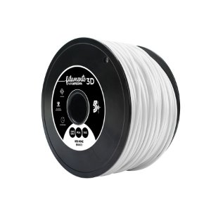 Filamento Impressoras 3D PLA 1Kg 3mm Branco