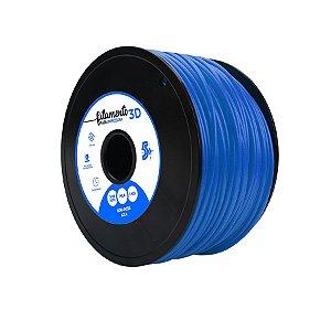 Filamento Impressoras 3D PLA 1Kg 3mm Azul