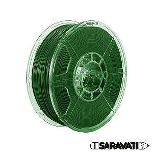 Filamento Impressoras 3D PLA 500g 1,75mm Verde Escuro