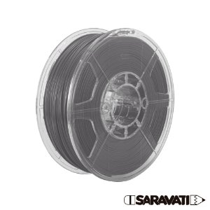 Filamento Impressoras 3D PLA 500g 1,75mm Grafite
