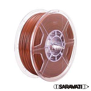 Filamento Impressoras 3D PLA 1Kg 1,75mm Marrom