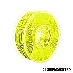 Filamento Impressoras 3D PLA 1Kg 1,75mm Amarelo Marca Texto