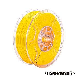 Filamento Impressoras 3D PLA 1Kg 1,75mm Amarelo