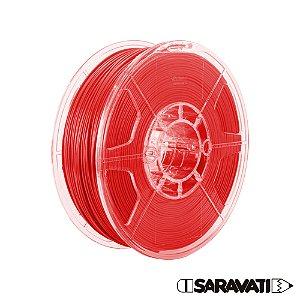 Filamento Impressoras 3D PLA 1Kg 1,75mm Vermelho