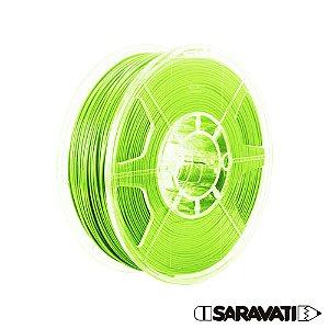 Filamento Impressoras 3D PLA 1Kg 1,75mm Verde Claro