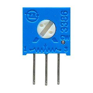 Trimpot 1 Volta 3386H H503 50K Ohms Vertical